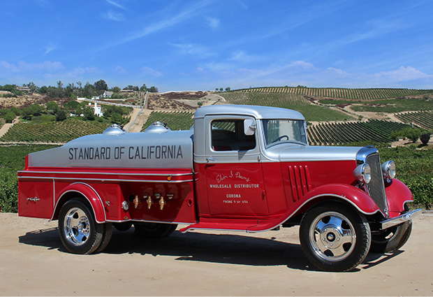 1934 Downd Chevy Oil Truck