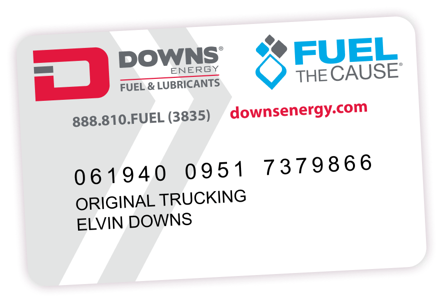 downs energy card